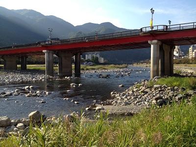 下呂温泉の街